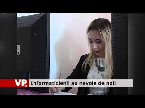 Informaticienii au nevoie de noi!