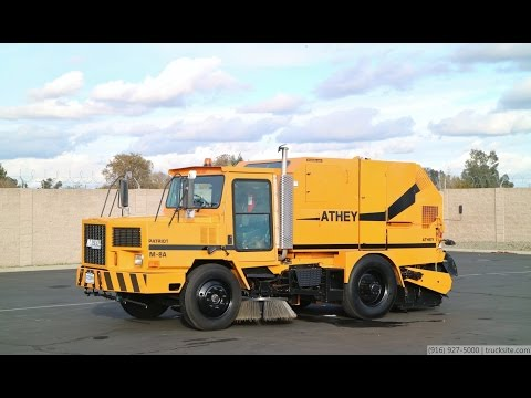 1998 Athey Mobil M-8A Patriot Broom Street Sweeper