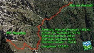 Dal Pian dei Resinelli al Rifugio Rosalba