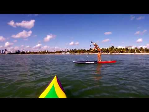 Stand Up Paddle The Crossbow Technique