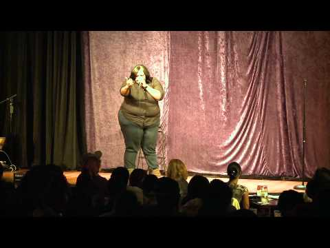 Comedian Brandy Adams -
