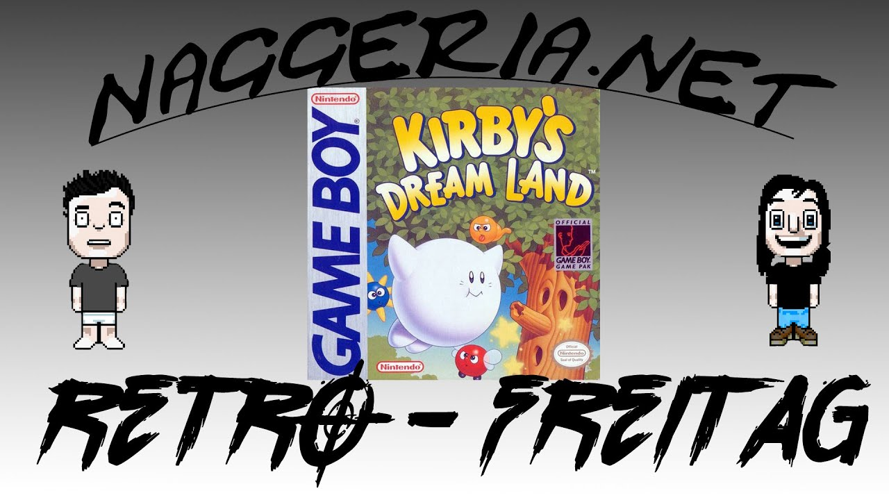 [Retro-Freitag] Kirby's Dream Land (Game Boy)