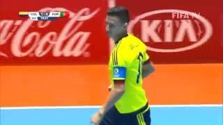 Video Match 1: Colombia v Portugal - FIFA Futsal World Cup 2016 MP3, 3GP, MP4, WEBM, AVI, FLV Juli 2017