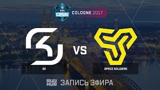 SK Gaming vs Space Soldiers - ESL One Cologne 2017 - de_cache [CrystalMay, sleepsomewhile]