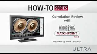 Correlation review with IBIS MATCHPOINT 3.2
