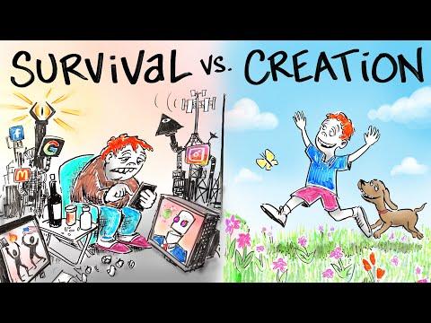 Living in SURVIVAL vs. Living in CREATION - Dr. Joe Dispenza