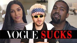 Video Vogue's 73 Questions is Stupid (Ft. Kim Kardashian & Kanye West) MP3, 3GP, MP4, WEBM, AVI, FLV Juni 2019