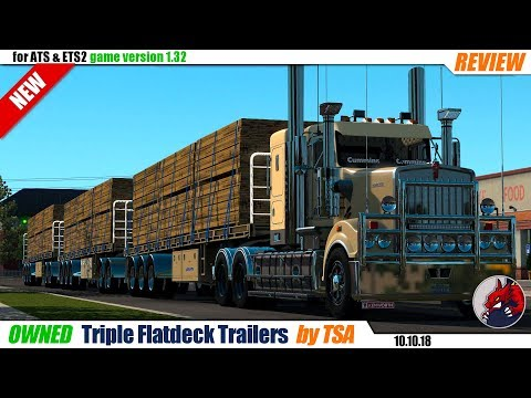 Riple Flatdeck Trailers (1.32) by TSA