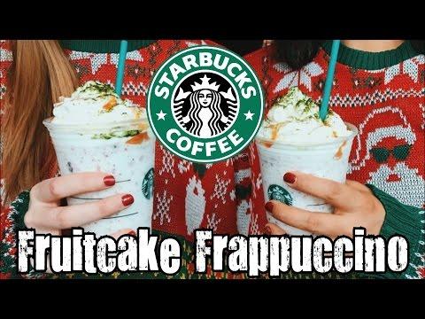 Starbucks Fruitcake Frappuccino Review - CarBS
