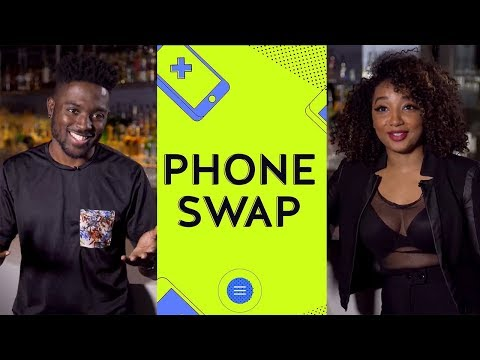 First date going through your Phone - Phone Swap Snapchat