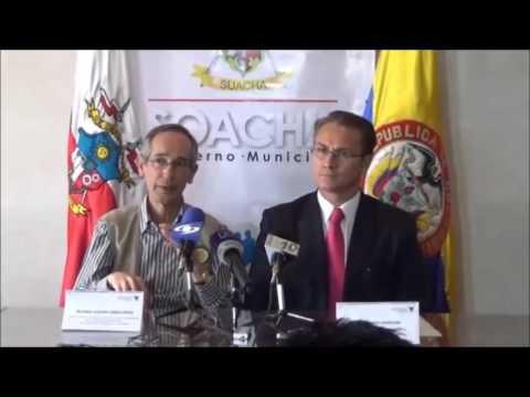 RUEDA DE PRENSA MISIÓN DE VEEDURÍA ELECTORAL DE LA OEA