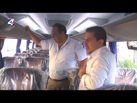 Intendente Caraballo valoró la modernización de la flota de Copay
