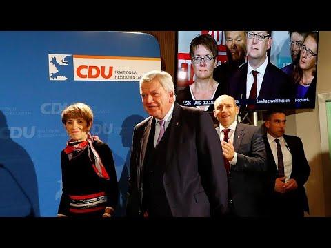 Hessen: Schwarz-Grün verteidigt die Mehrheit knapp