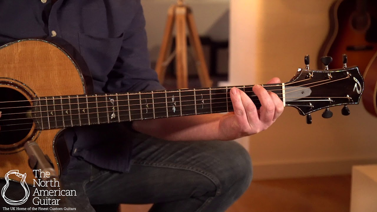 Ryan Nightingale Grand Soloist Acoustic Guitar Played By Ben Smith (Part Two)