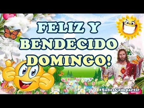 Frases de amigos - BUENOS DIAS FELIZ Y BENDECIDO DOMINGO