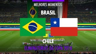 Video Highlights - Brazil 3 vs 0 Chile - 2018 Fifa World Cup Qualifiers - 10/10/2017 MP3, 3GP, MP4, WEBM, AVI, FLV Oktober 2017