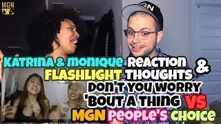 Don't You Worry 'Bout A Thing - VS - MGN People's Choice + Katrina Velarde - Flashlight Reaction