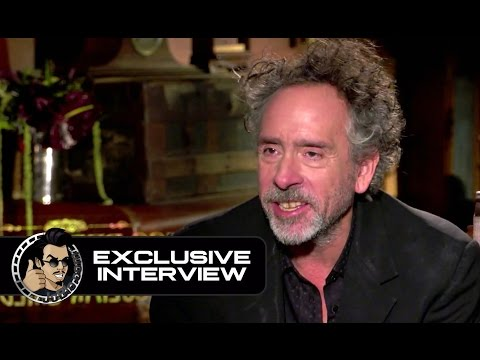 "Interviews: Tim Burton and Jane Goldman on ""Miss Peregrine's Home for Peculiar Children"""