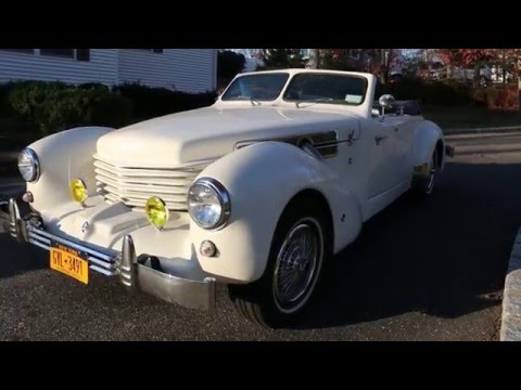 1969 CORD WARRIOR Roadster For Sale~SAMCO Body~5,256 ORIGINAL MILES!!!
