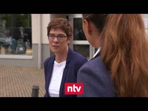 CDU-Chefin: »Einen Minister Merz wird es im Kabinett  ...