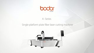 Entry Level Fiber Laser Cutting Machine for Metal process youtube video
