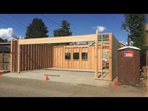 Garage Build Part 2: The slab pour and structure build