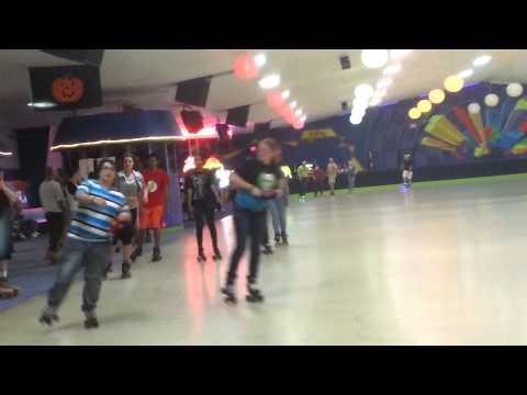 Shuffle skating at The Palace Skating Center in Ph