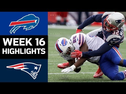 Bills vs. Patriots | NFL Week 16 Game Highlights (видео)