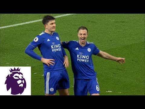 Video: Harry Maguire scores equalizer for Leicester City v. Liverpool | Premier League | NBC Sports