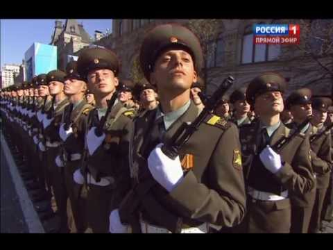 Celebration of Victory Day in 2013 Russians...