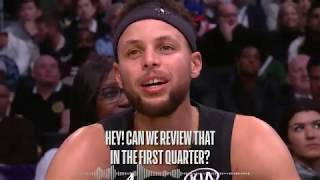 Best Wired Moments of the 2018 NBA All Star Game! LeBron, Steph, Kemba and More! by NBA