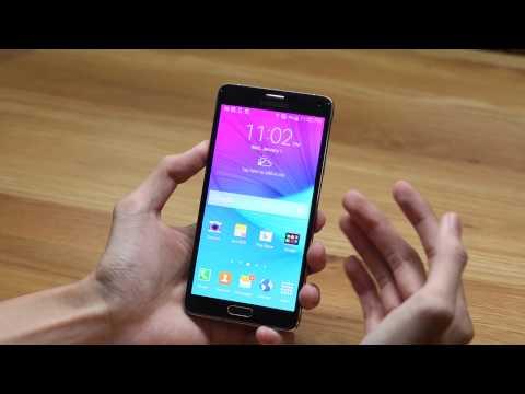 Đập hộp Galaxy Note 4 phiên bản Hàn Quốc