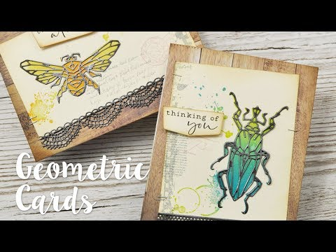 Geometric Insect Cards with Pete Hughes