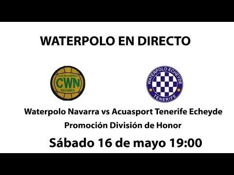 Waterpolo Navarra vs Echeyde
