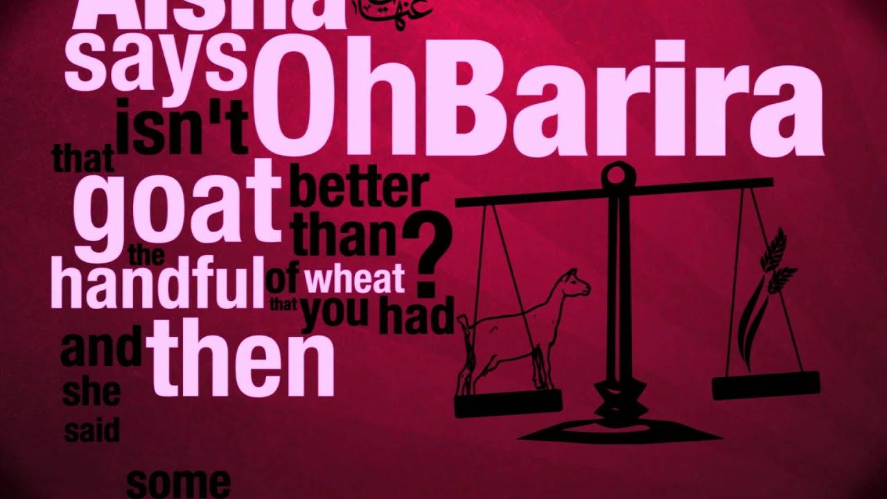 HADITH OF AI'SHA ANIMATED – Allah will Provide