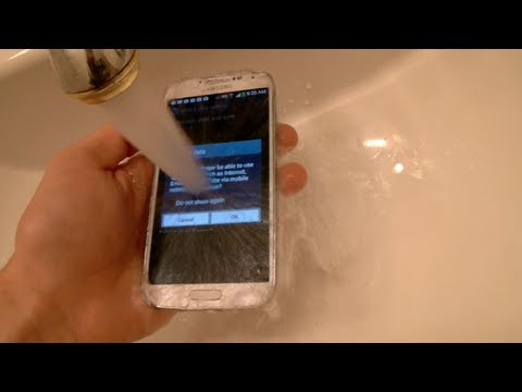 Samsung Galaxy S4 防水測試