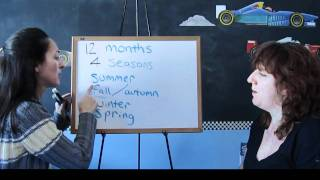 Lesson 37 - Seasons - Learn English With Jennifer