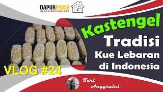 Video Vlog #24 Resep Kue Kering Kastengel Renyah Mantap MP3, 3GP, MP4, WEBM, AVI, FLV Maret 2019