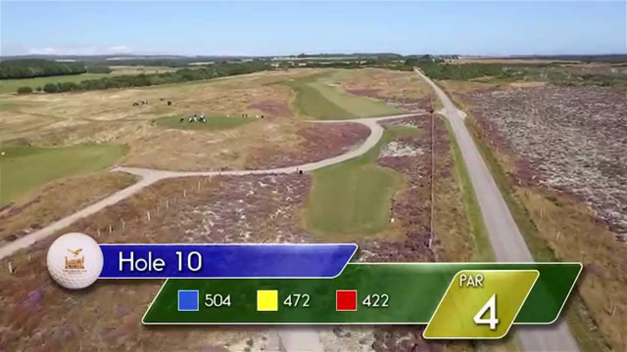 Carnegie Links Hole 10 - YouTube video