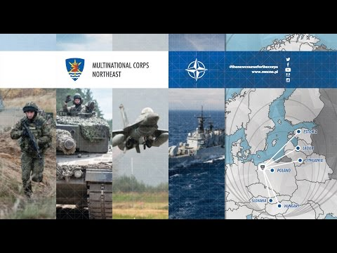 Multinational Corps Northeast Promotional Video