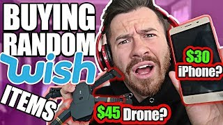 Video Buying Everything Wish Recommended Me! (TESTING KNOCK OFF TECH PRODUCTS FROM WISH $1000 Unboxing) MP3, 3GP, MP4, WEBM, AVI, FLV Agustus 2018