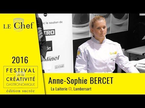 FCG 2016 édition sucrée : Anne-Sophie Bercet