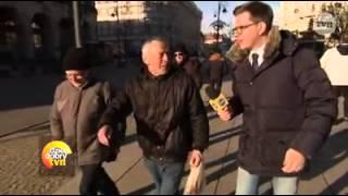 Gość zaorał Chajzera gdy dowiedział się że są z TVNu!