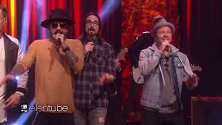 Backstreet Boys & Florida Georgia Line - God, Your Mama, and Me (Live Ellen Show 2017) Mp3