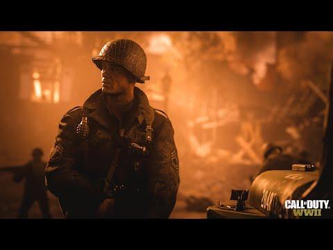 Поиграл в Call of Duty: WWII - впечатления от одиночной и сетевой игры. Эксклюзивный геймплей.