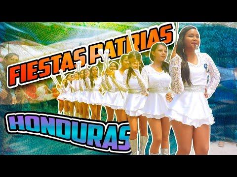 Desfiles patrios Honduras 13 de septiembre 2018