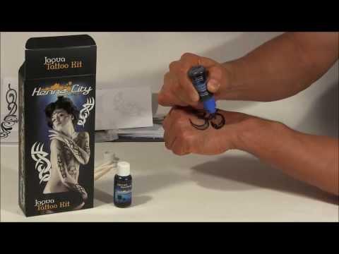 Jagua Tattoo Kit Demo