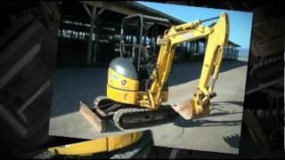 9. John Deere 17ZTS Excavator