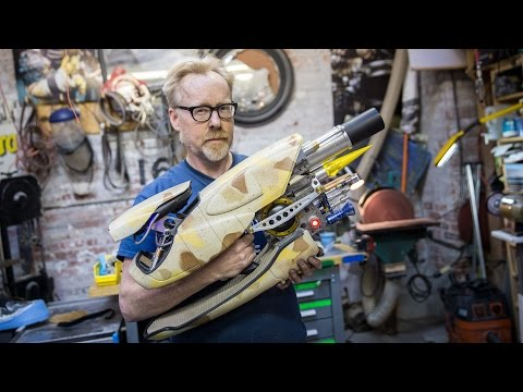 Adam Savage Built an Incredible Replica of the Zorg ZF1 Pod Weapon From The Fifth