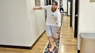 Video World's Longest LEGO Walk | Overtime 2 | Dude Perfect MP3, 3GP, MP4, WEBM, AVI, FLV November 2018
